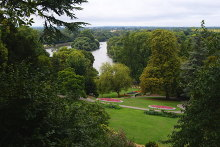 Richmond, View From Richmond Hill, Surrey © Clem Rutter